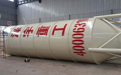 Cement silo with capacity 50tons