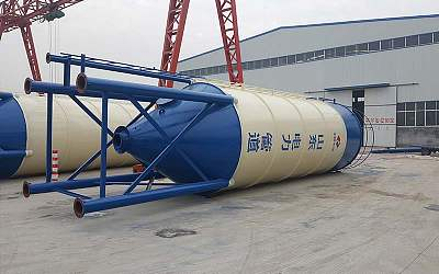 Cement silo with capacity 100tons