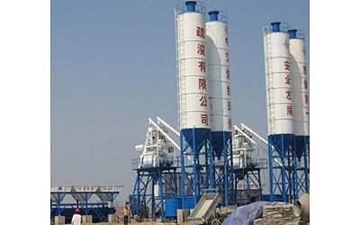 50m³/h concrete mixing station