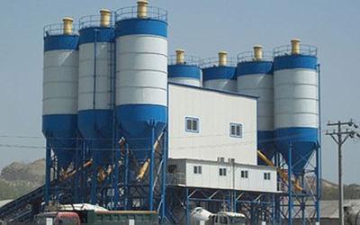 180 cub meters per hour Concrete mixing plant