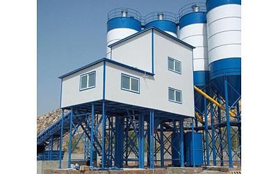 120 cub meters Concrete mixing plant